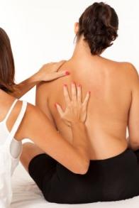 Pijnlijke linker schouder